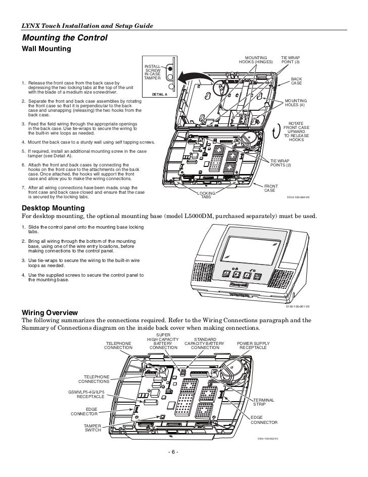 honeywell l5100 install guide 6 728?cb=1344338435 honeywell l5100 install guide Lynx Physical Characteristics at n-0.co