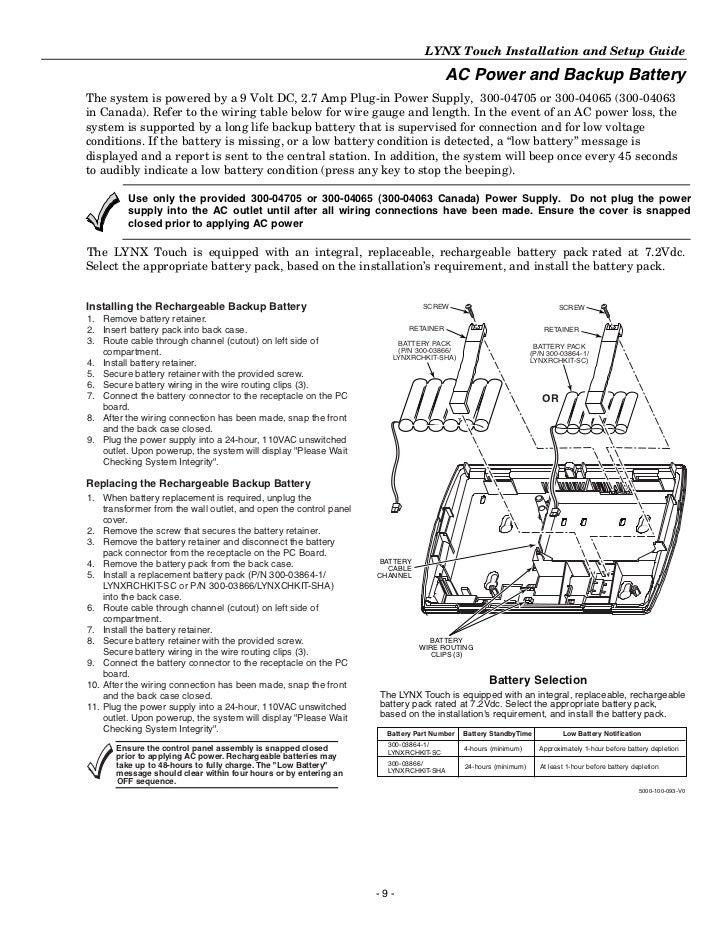 Honeywell L5100 Install Guide
