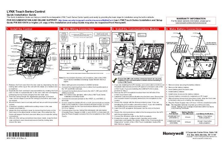 honeywell l5100 quick install guide rh slideshare net honeywell lynx l5100 external sounder installation manual and setup guide honeywell lynx l5100 external sounder installation manual and setup guide