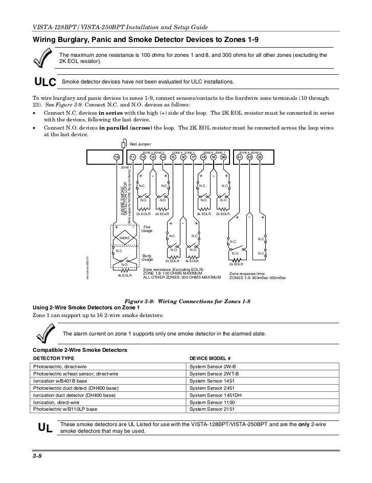 ademco vista 128bp wiring diagrams free download rh ads789 com honeywell vista 128bp wiring diagram