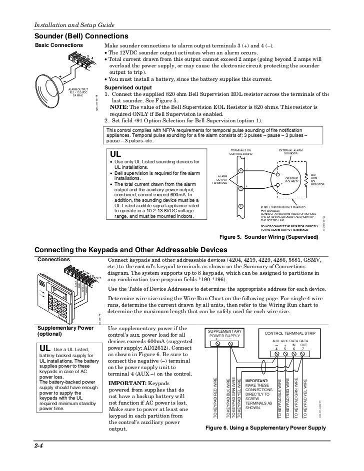 Honeywell Vista 15p Honeywell Vista 20P Install Guide