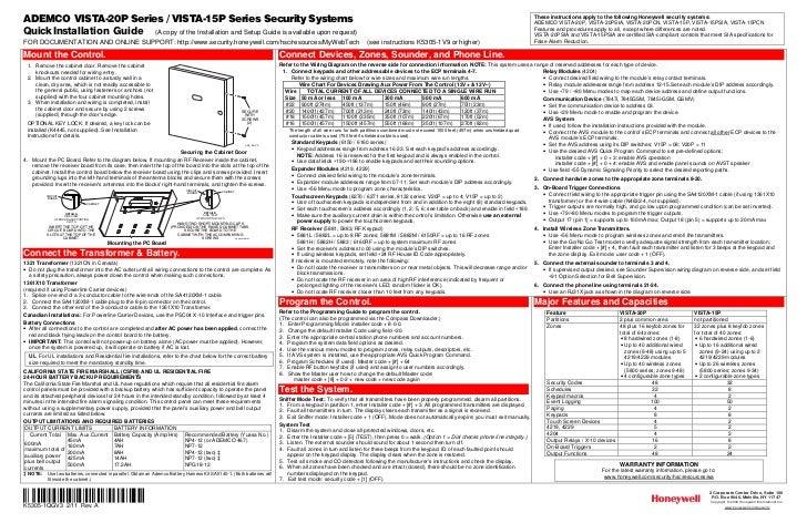 honeywell vista 15p and honeywell vista 20p quick install guide 1 728?cb=1344339737 honeywell vista 15p and honeywell vista 20p quick install guide vista 20p wiring diagram pdf at nearapp.co