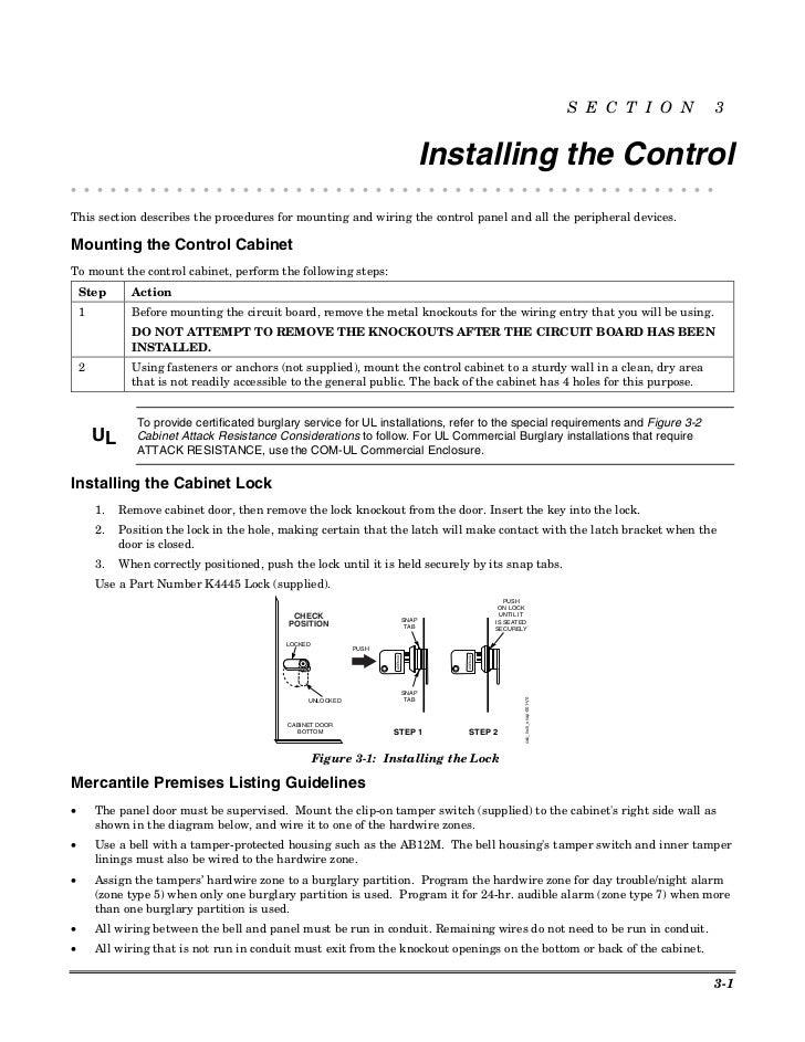 Honeywell Vista 50p Install Guide