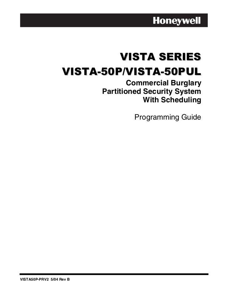 honeywell vista 50p programming guide rh slideshare net Charter Programming Guide Best Programming Software for Beginners