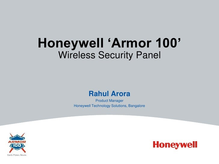 honeywell armor 100 wireless security system for home and. Black Bedroom Furniture Sets. Home Design Ideas