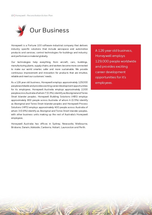 Honeywell Australia 2018 Innovate Reconciliation Action Plan