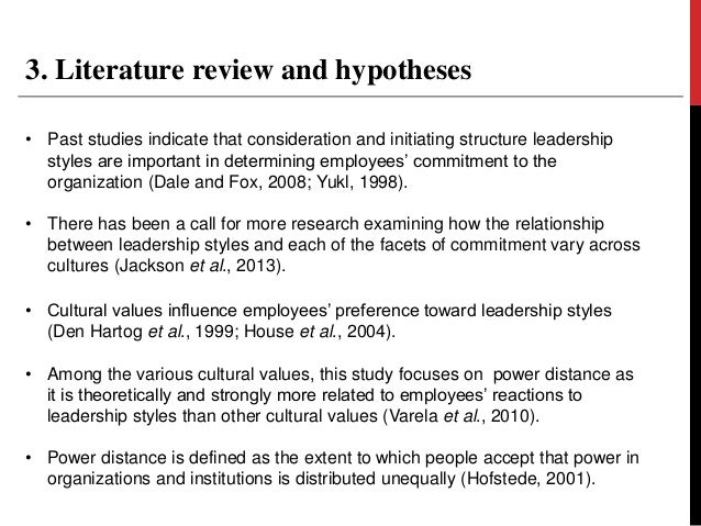 literature review on effective leadership styles