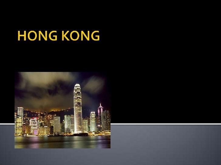 HONG KONG<br />