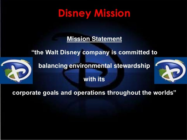 Disneyland mission statement