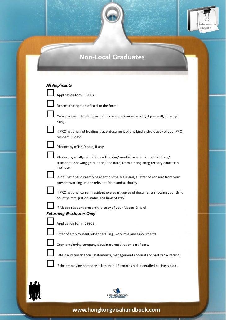 Pre‐Submission                                                                                          Checklist       ...