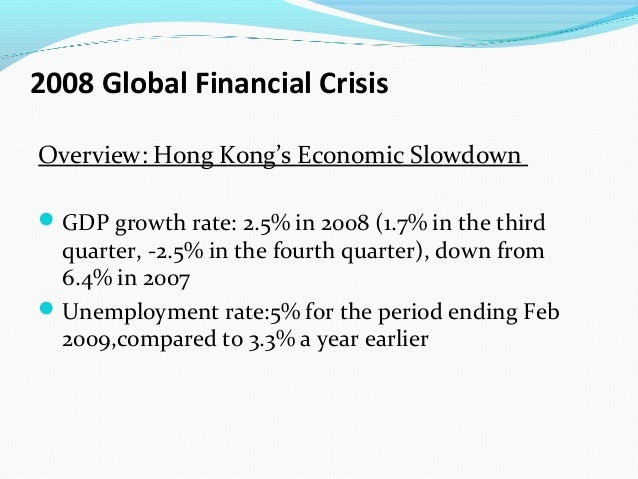 financial crisis 2007 2009 summary Below is a brief summary of the causes and events that redefined the industry  and the world in 2007 and 2008 2008 financial crisis - the history - financial.