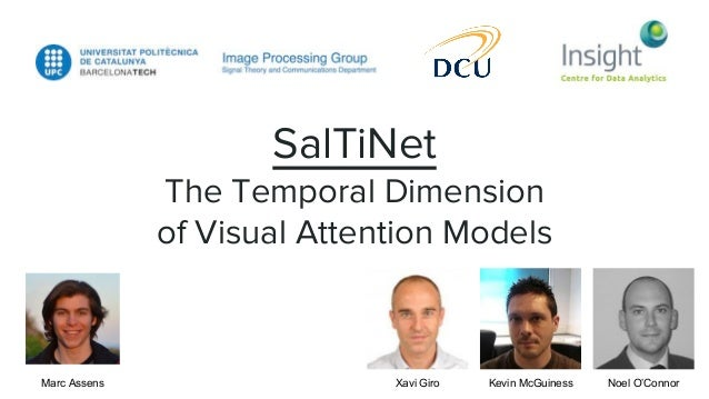 SalTiNet The Temporal Dimension of Visual Attention Models Marc Assens Xavi Giro Kevin McGuiness Noel O'Connor