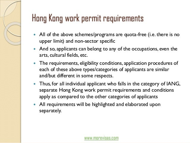 cic hong kong work permit application