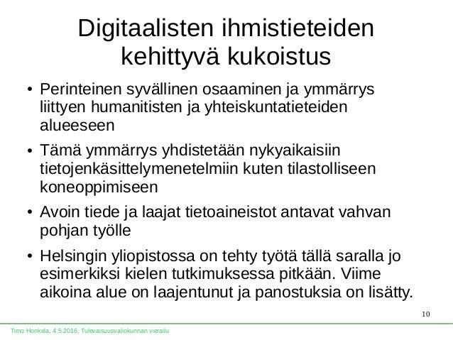 Timo Honkela: Tieteen uudet valtatiet