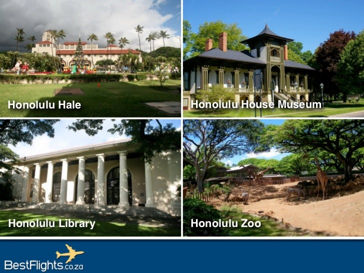 Tourist Attractions in Honolulu, Hawaii USA