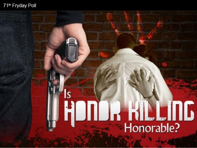 Is Honor Killing Honorable? Facts & Infographic