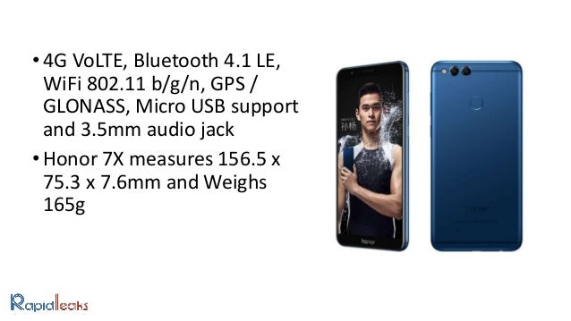 Honor 7X Launched: Price, Specifications And Review