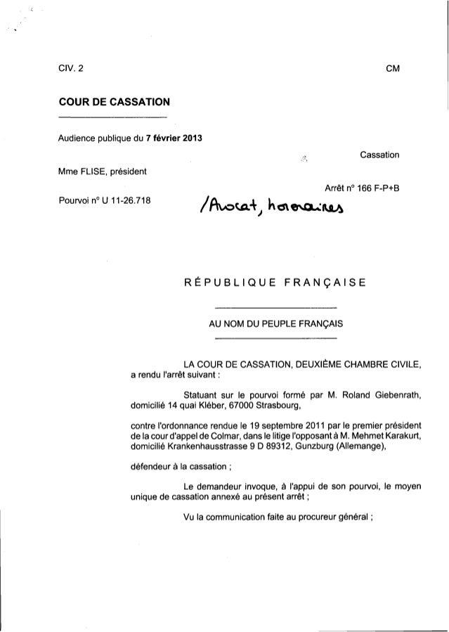 CIV. 2  COUR DE CASSATION  Audience publique du 7 février 2013 Cassation Mme FLISE, président Arrêt n° 166 F-P+B Pourvoi n...