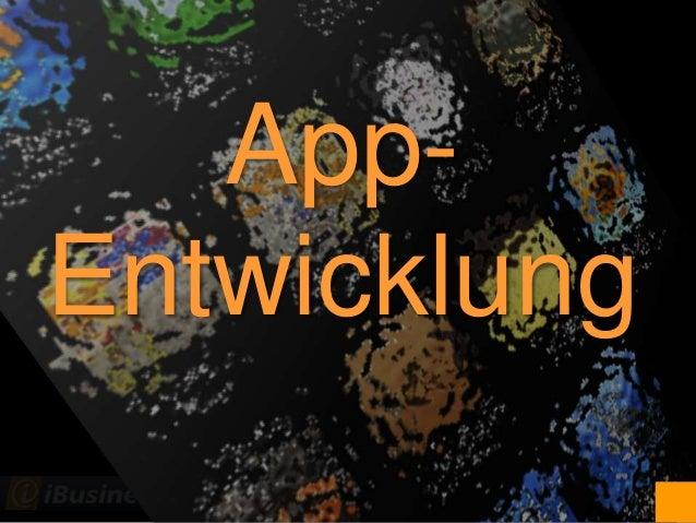 @JoachimGraf App- Entwicklung