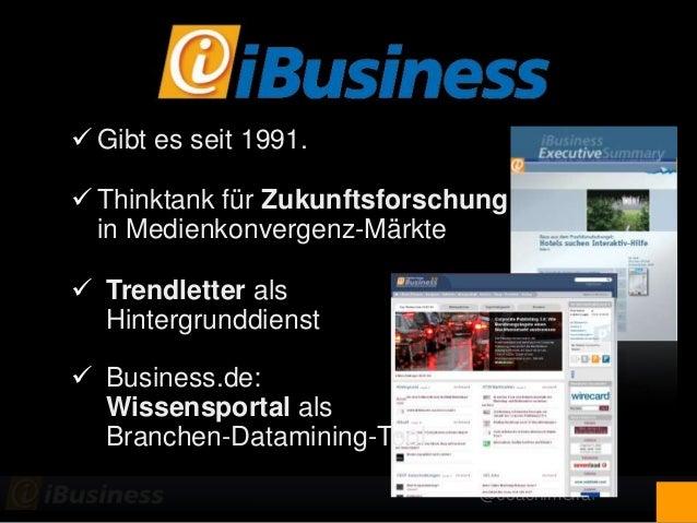 @JoachimGraf  Gibt es seit 1991.  Thinktank für Zukunftsforschung in Medienkonvergenz-Märkte  Trendletter als Hintergru...