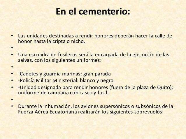 Honores Y Ceremonial 2006