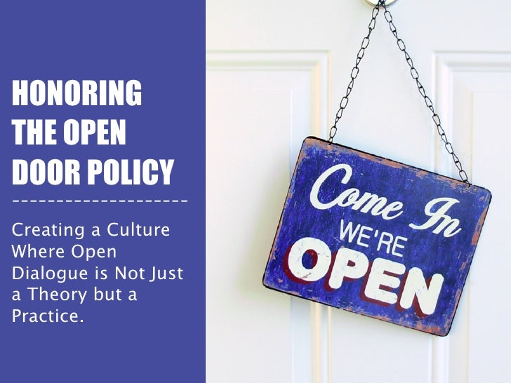 Honoring the open door policy. HONORINGTHE OPENDOOR POLICY------------- ...  sc 1 st  SlideShare & Honoring the open door policy pezcame.com