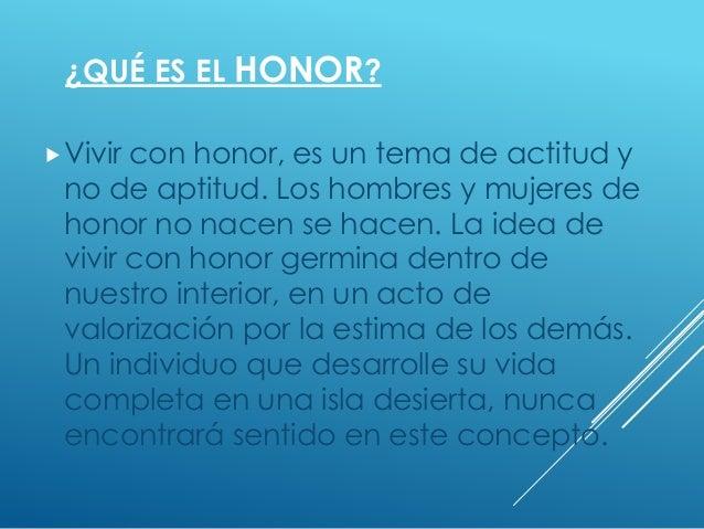 Honor Disciplina Lealtad