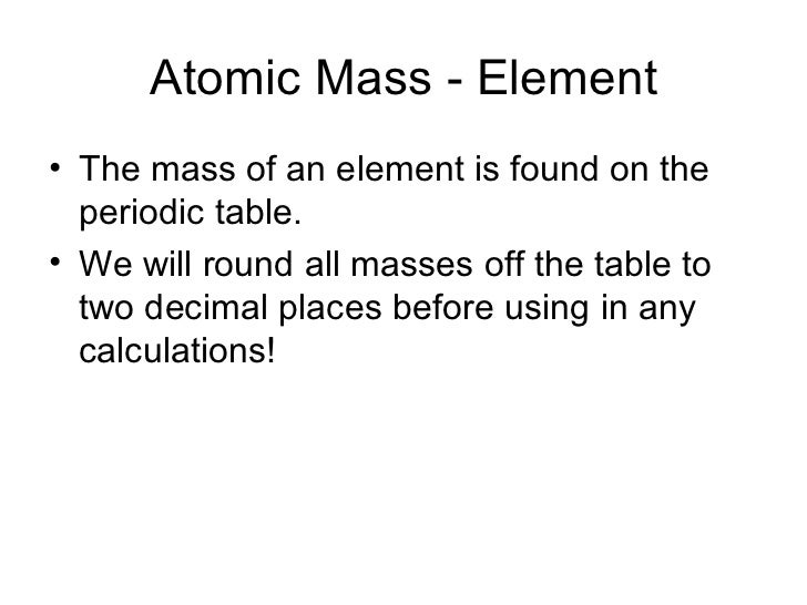 Honors1011 molar mass and percent composition atomic mass urtaz Image collections