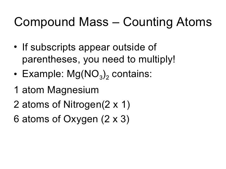 Honors1011 molar mass and percent composition 8 compound mass counting atoms urtaz Choice Image