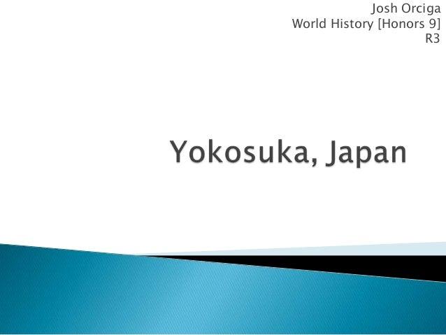 Josh Orciga World History [Honors 9] R3