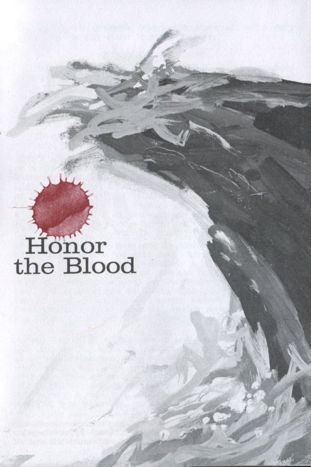 "1 Honor the Blood The Lord compares the intense battles of the Christian life with floods. ""When the enemy shall come in l..."