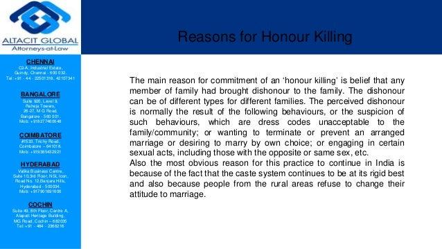 Honour killing in India Slide 3