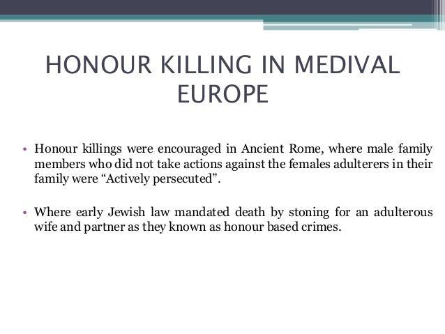 Honor Killing Jew: Honour Killing
