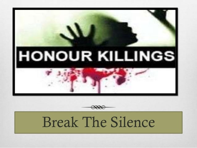 honour killings Most honor killings are not classified as such, are rarely prosecuted, or when prosecuted in the muslim world, result in relatively light sentences when an honor killing occurs in the west, many people, including the.