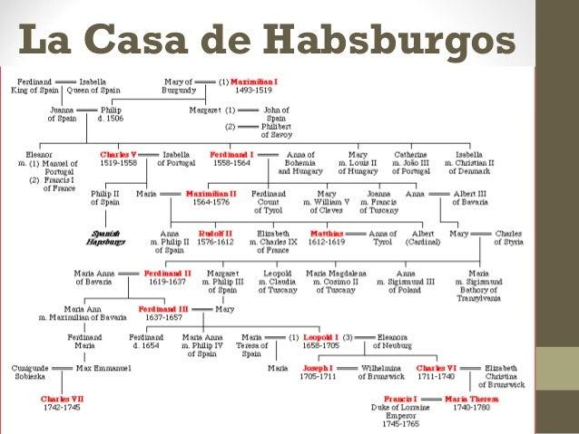 La dinastia habsburgos - Casa de los reyes de espana ...