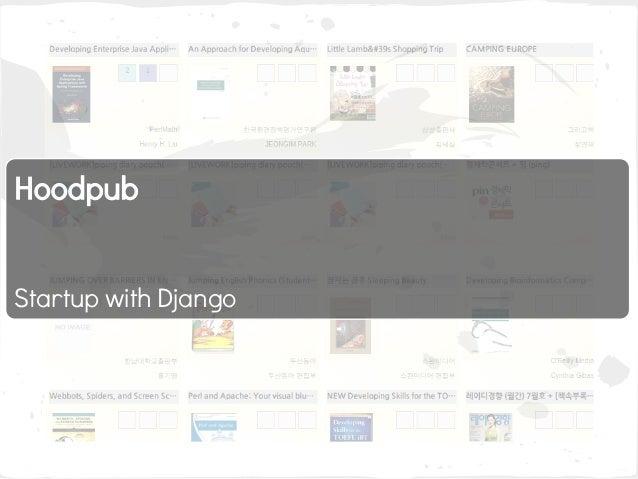 Hoodpub   Startup with Django