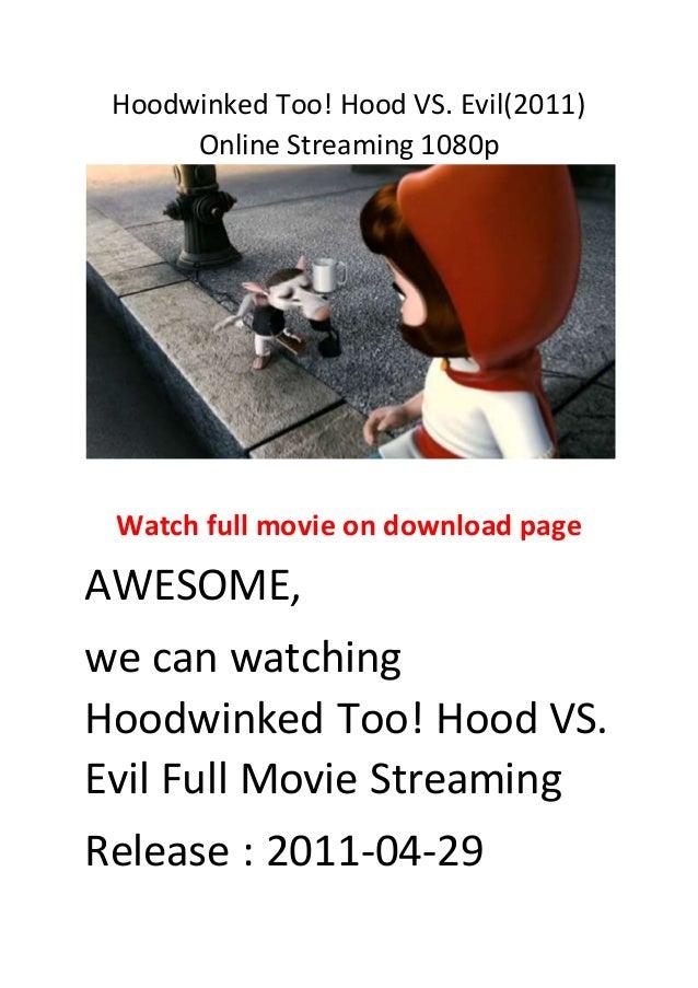 Watch hoodwinked full movie