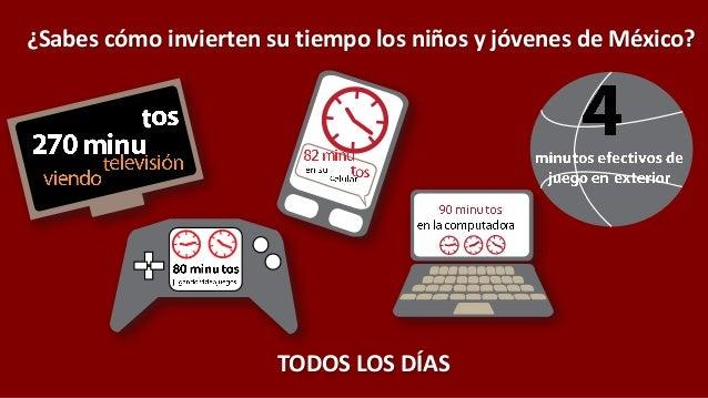 ¿Sabes cómo invierten su tiempo los niños y jóvenes de México? TODOS LOS DÍAS