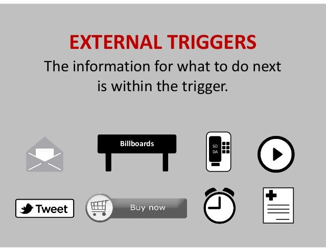 Optimizing  external  triggers  =     Growth  Hacking