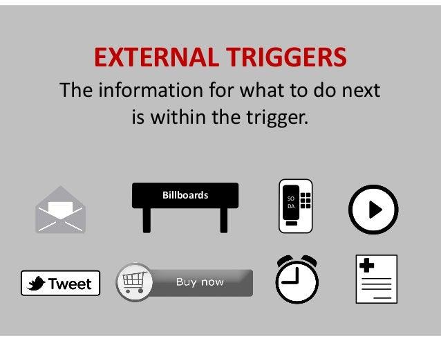 Optimizing external triggers =   Growth Hacking
