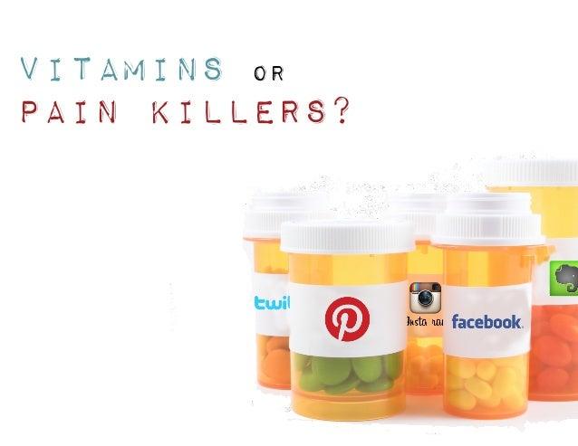 Vitamins OR Pain Killers?