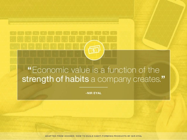 Hooked: How To Build Habit Forming Products Slide 2