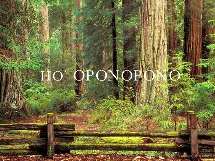 HO`  OPONOPONO