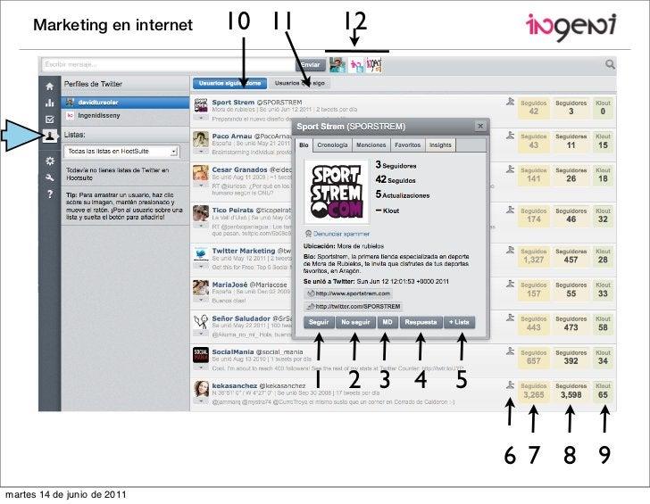 Marketing en internet   10 11    12                                     1 2 3 4   5                                       ...
