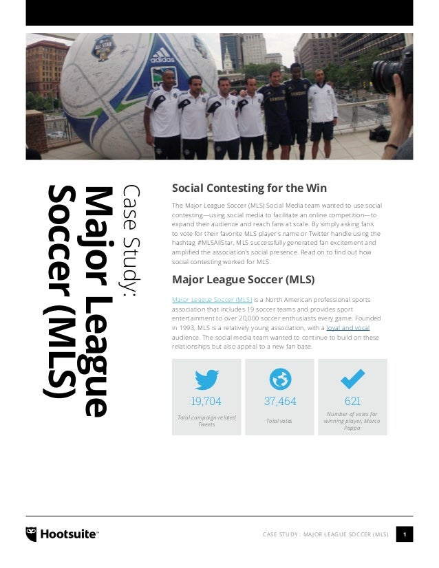 Social Contesting with HootSuite - A Case Study with MLS
