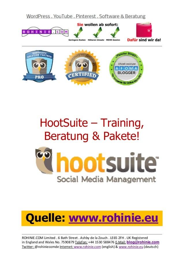 HootSuite – Traini...