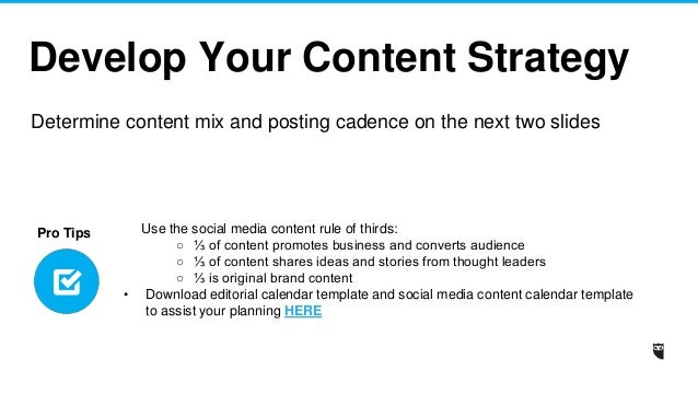 Hootsuite Social Media Strategy Template