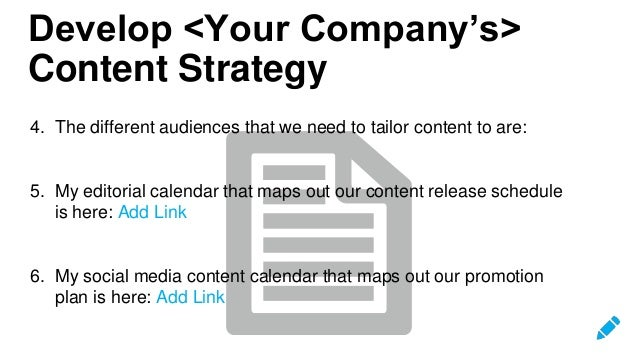 Hootsuite Social Media Strategy Template - Hootsuite content calendar template