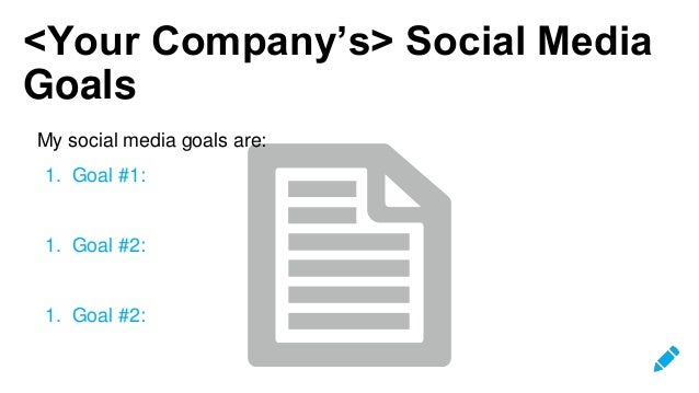 Hootsuite Social Media Strategy Template - Hootsuite social media strategy template