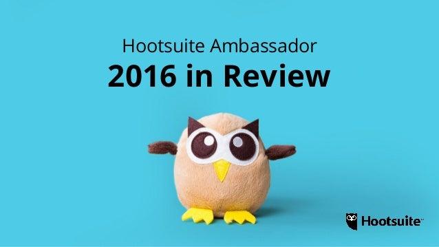 Hootsuite Ambassador Yearbook 2016